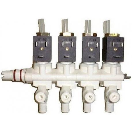 IQN251-BLOC-4-ELECTROVANNE ERA 2VOIES 6W 24V AC 50-60HZ