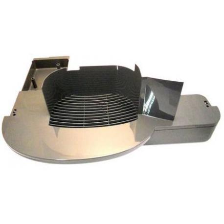 MQN422-BASSINELLE AVEC GRILLE BRIO 250 ARGENT