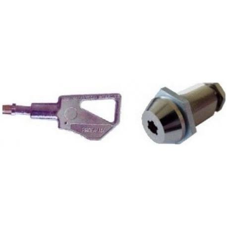 IQN649-SERRURE A CAME L:30 CARRE 7.00