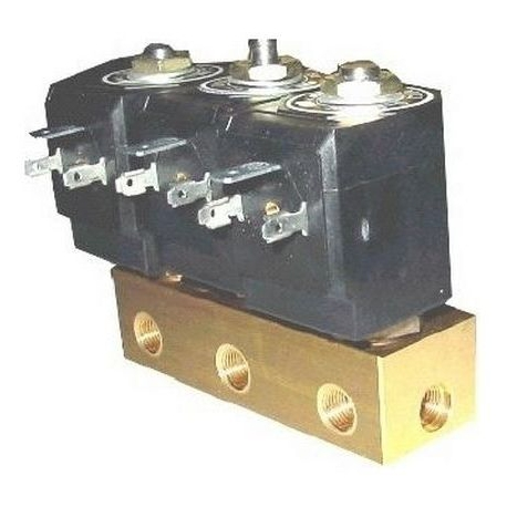 IQN6750-GROUPE DE 3 ELECTROVANNES 230V