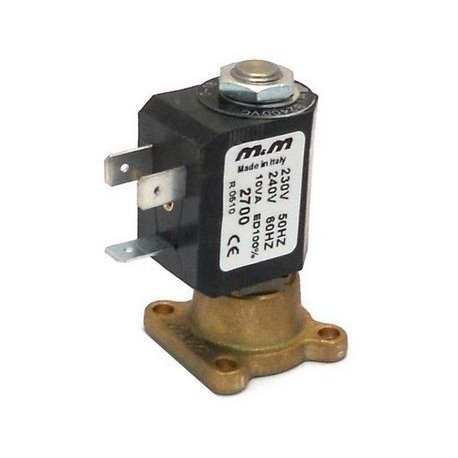 O795QOP-ELECTROVANNE M&M 2VOIES 10W 230-240V AC 50-60HZ