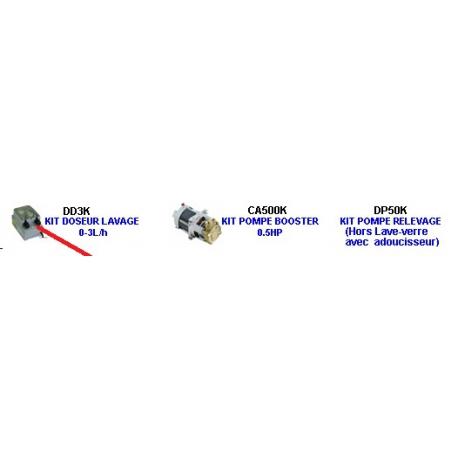 qq8x-KIT DOSEUR DETERGENT 0.3LT/H POUR LAVERIE ORIGINE KRUPPS