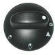 BYQ6971-MANETTE DE GAZ 70/02 NOIRE ORIGINE OLIS