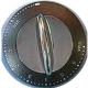 XRQ2780-BOUTON DE COMMANDE ET INSERT SANS IMPULSION GY/CHROME ORIGINE