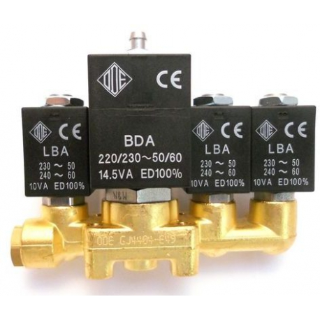 MQN6615-BLOC-4-ELECTROVANNE INOX ODE 2+2+3+2 NECTA 258767 ORIGINE