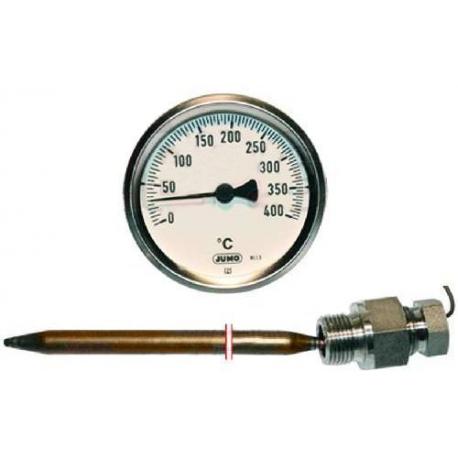 NZQ762-THERMOMETRE POUR FOUR CFE806 Ø60MM TMINI 0°C TMAXI 400°C