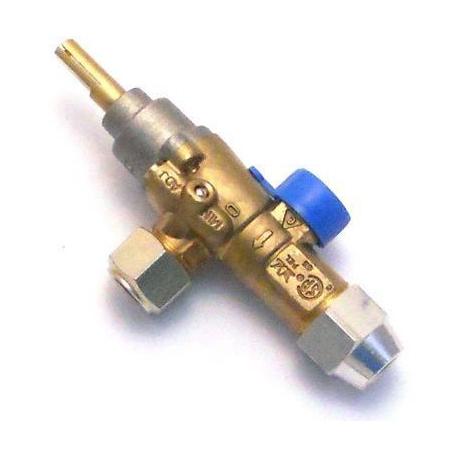 QVI7343-ROBINET GAZ POUR RECHAUD B906FV800 ORIGINE BONNET