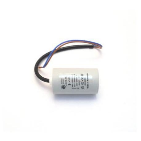 ZEQ662-CONDENSATEUR SUPER JOLLY 230V 8µF ORIGINE MAZZER