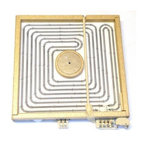 TIQ71050-PLAQUE ELECTRIQUE 4000W 400V 300X300MM RAYONNEMENT 270X270MM