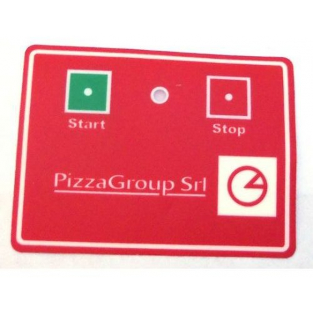 TIQ63054-CLAVIER PIZZAGROUP 75X100M