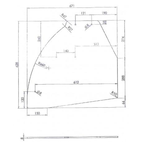 SKQ6768-VITRE LATERALE GERES 2 ORIGINE FRILIXA