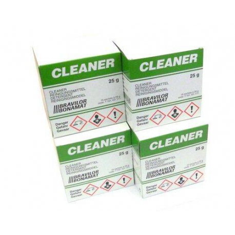 OENQ776-DETERGENT CLEANER LOT DE 4 BOITES DE 15 SACHETS 15GR