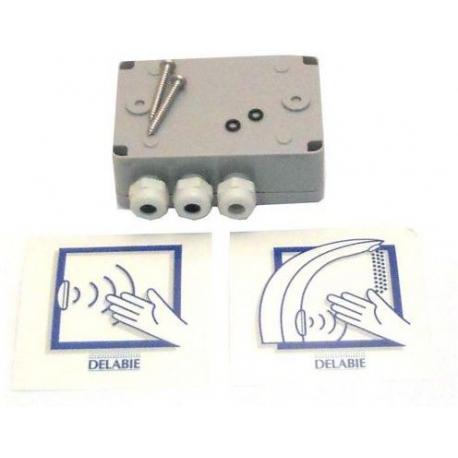 TIQ11885-BOITIER ELECTRONIQUE STANDARD 230/12V ORIGINE DELABIE