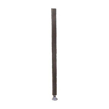 IYQ6656-PIED COMPLET AVEC VERIN H = 763 MM TUBE 35 X 35 MM