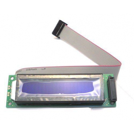 905610-AFFICHEUR X LCD 20X2 BLEU AVEC CABLE L38 ORIGINE