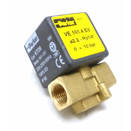 IQ6681-ELECTROVANNE KT09 2VOIES 9W 230V í2.2MM