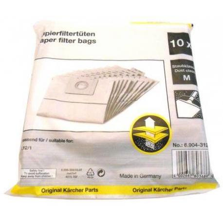 XNEQ6551-Sachet de filtres papier 10 St.