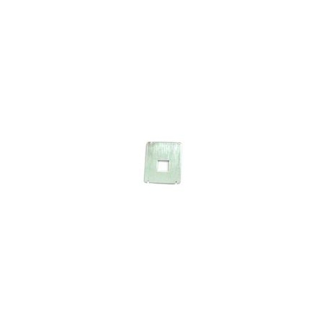 FRQ88247-PLAQUE METAL CLAVIER ALISEO