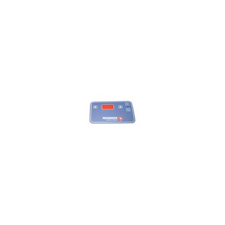 EBFQ688-PLASTRON FRITEUSE BLEU 4 TOUCHES L:148MM L:91MM
