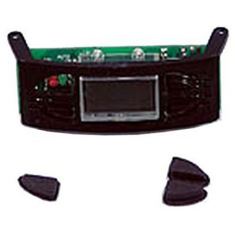 XRQ65507-CLOCK ASSY+BUTTONS BLACK CM685