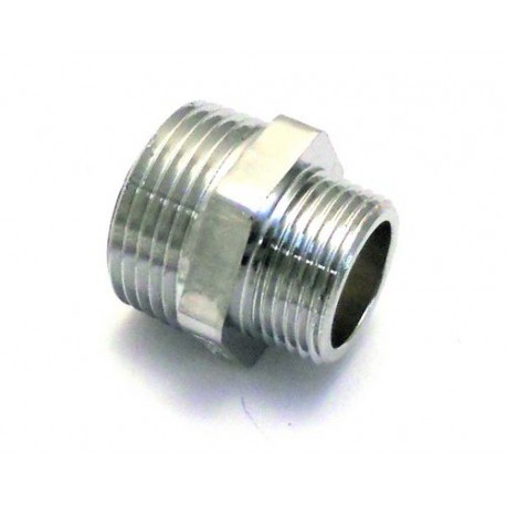 IQ6787-RACCORD CHROME M/M 3/4 1'