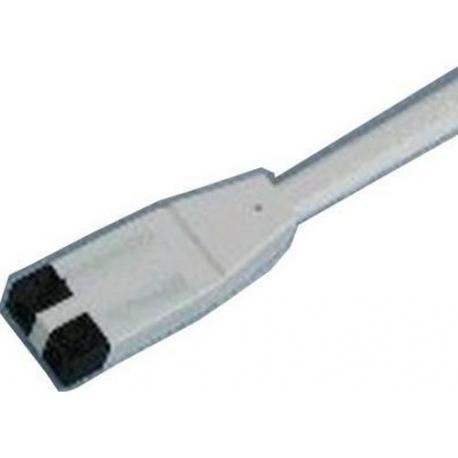 XRQ2445-CORDSET WHITE (230V ONLY)