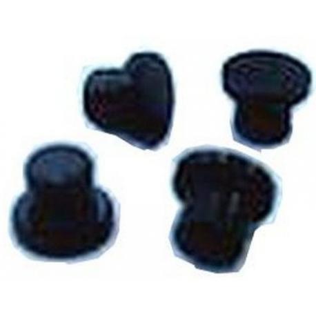 XRQ4976-FOOT-BLACK (PACK 4) FS350 ETC