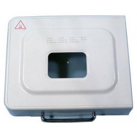 XRQ1338-LID ASSY COMP WHITE BM250