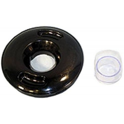 LID WITH FILLER CAP WHITE