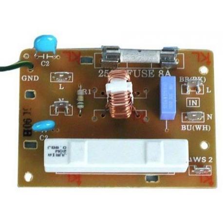 XRQ8077-PANEL ASSY MW301/303 ORIGINE