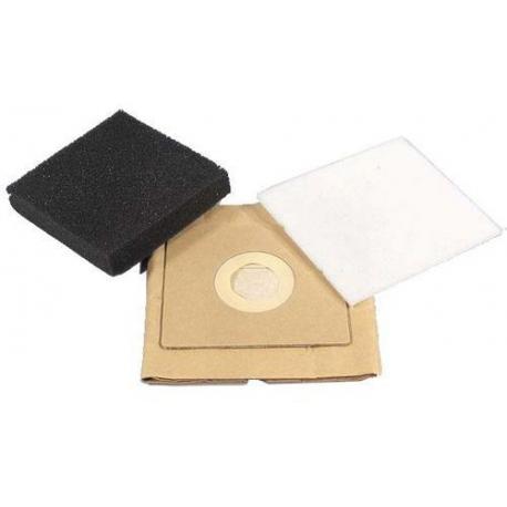 XRQ65653-PAPER DUST BAG 5PK VC5100/5200