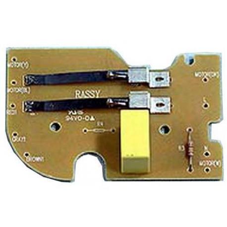 XRQ0360-CARTE ELECTRONIQUE ENSEMBLE INTERRUPTEUR VITESSE VAR FP931/911/912/932 ORIGINE