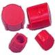 XRQ2486-SCREW COVER PINK (2 LGE+2