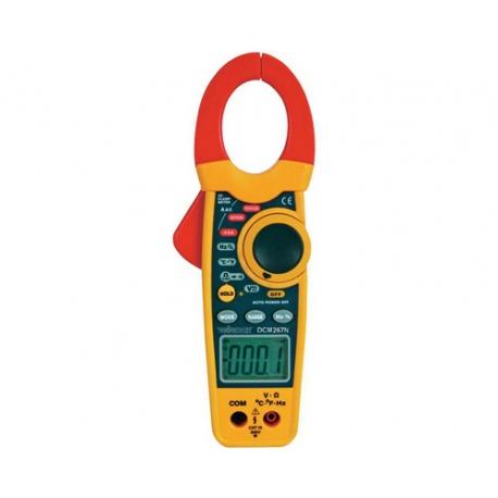 374-PINCE AMPEREMETRE DIGITALE AC 0.1-1000A 0.1-600V TROUSSE