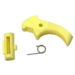 STEAM SWITCH LEVER-YELLOW+
