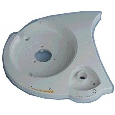 XRQ2447-TOP COVER WHITE - 2 SPEED