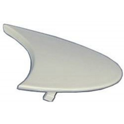 TOP HANDLE MOULDING WHITE