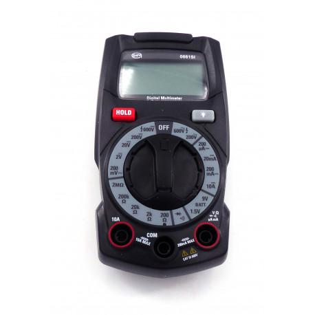 IQ361-MULTIMETRE DIGITAL 600V AVEC CORDONS DIM 70X135X36MM