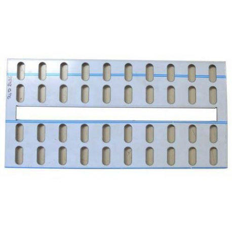EYQ7941-PLAQUE SUBSTITUTION GRILLE