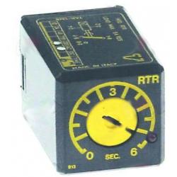 RELAIS TEMPORISE RTR12DS06S 230V 50HZ 6SEC