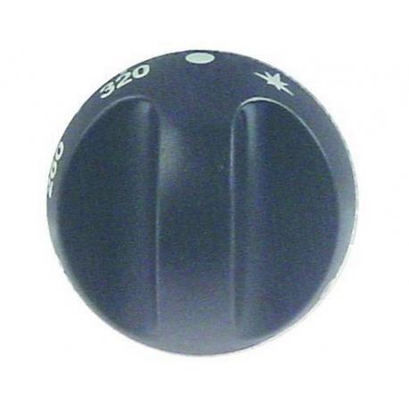 46531-MANETTE NOIRE D 55MM 80-320ø ORIGINE OLIS