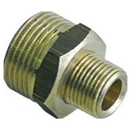 IQN465-RACCORD 3/4M 3/8M L:32MM