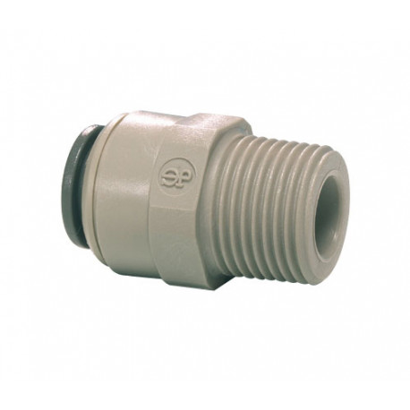 IQN443-UNION SIMPLE 1/4M TUBE EXT 1/4