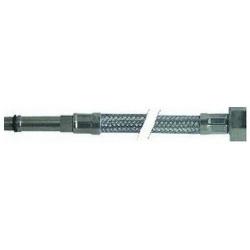 FLEXIBLE INOX COLONNE LONGUE L:400MM 3/8F-M10X1