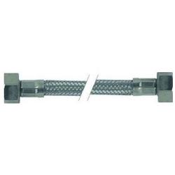 FLEXIBLE INOX 1/2FX1/2F PLAT AVEC JOINT LG:1100MM