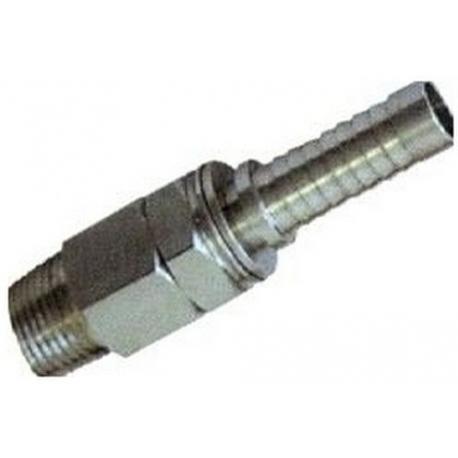 ITQ146-RACCORD M/M 1/2X 13MM