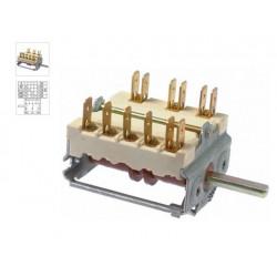 COMMUTATEUR 0-4 POSITIONS 250V 16A TMAXI 150°C ORIGINE