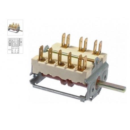 NZQ76-COMMUTATEUR 0-4 POSITIONS 250V 16A TMAXI 150°C ORIGINE