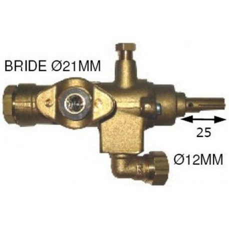 TNQ877-ROBINET GAZ GC2000 TYPE 2213