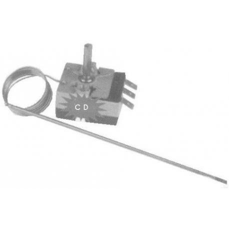 TNQ278-THERMOSTAT MONOPHASE 230V 16A TMINI 50°C TMAXI 320°C